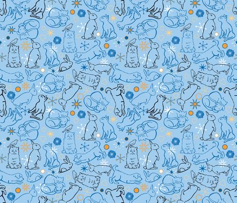 Peaceable Kingdom 2 fabric by vinpauld on Spoonflower - custom fabric