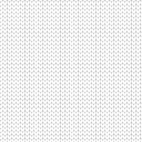 White Stockinette fabric by laura_mooney on Spoonflower - custom fabric