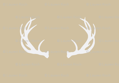 antlers // taupe