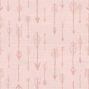 Lots of Arrows, Rustic Powder Pink Blush