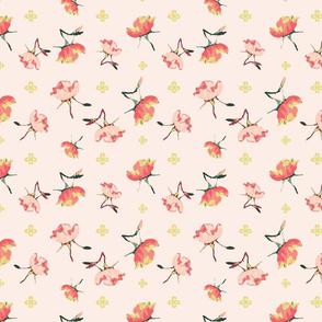 Tumbling Rose, pink
