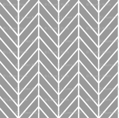feather arrows // grey