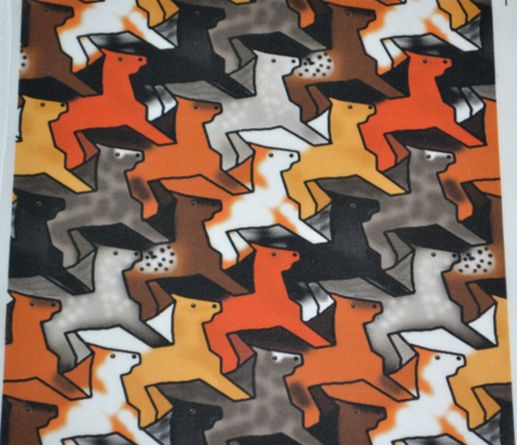 Tessellating Horse Herd 4
