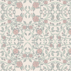 limited Palette Peach Roses