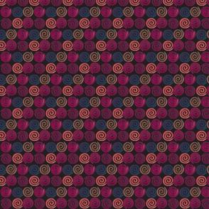 Spirals on black #2