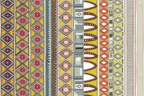 amber veneto panel left hand side fabric by scrummy on Spoonflower - custom fabric