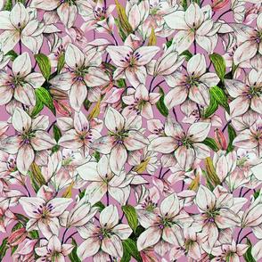 Lilies Amethyst
