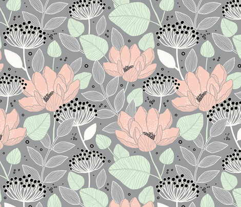 Limted Palette fabric by khulani on Spoonflower - custom fabric