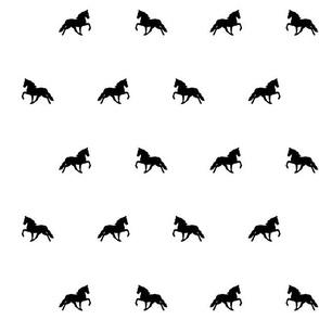 Tennessee Walking Horse Pattern B7W