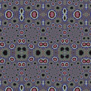 Millefiori Glass Beads Large Print