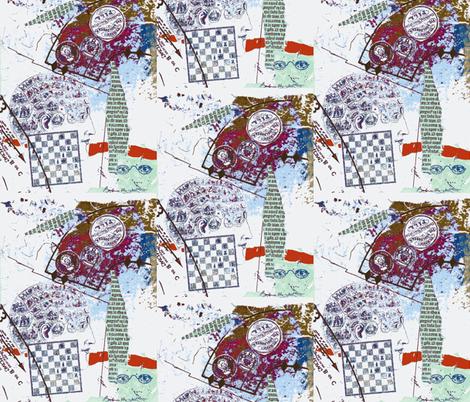 HeadGames 1-ch fabric by bbmc on Spoonflower - custom fabric