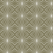 Abstract Lines in Tan and white