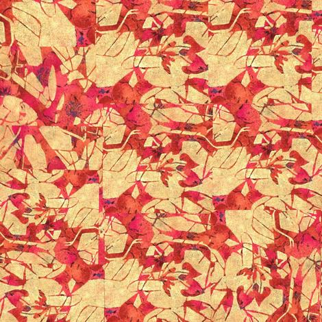 Field Of Dead Flowers Fabric By Betsy Olivia Putnam On Spoonflower