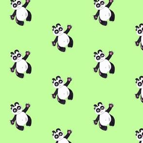 Pandamonium-limegreen