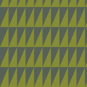 Dual triangles Blue Apple by Friztin