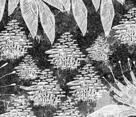 Botanical Night fabric by age_of_wonder on Spoonflower - custom fabric