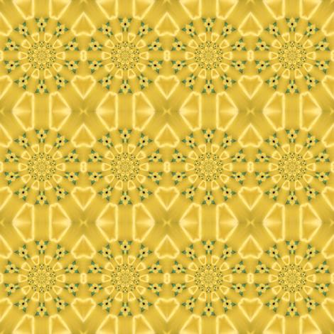 Golden Buttercup Wreaths fabric by ginascustomcreations on Spoonflower - custom fabric