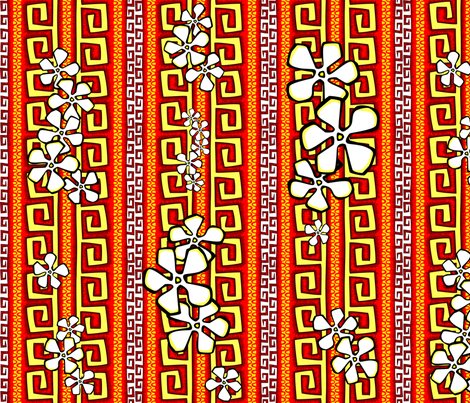 Lava Flo fabric by madtropic on Spoonflower - custom fabric
