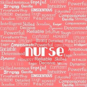 Nurse Positive Adjectives