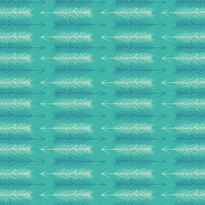 Arrowheads, turquoise