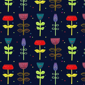Flowers dark