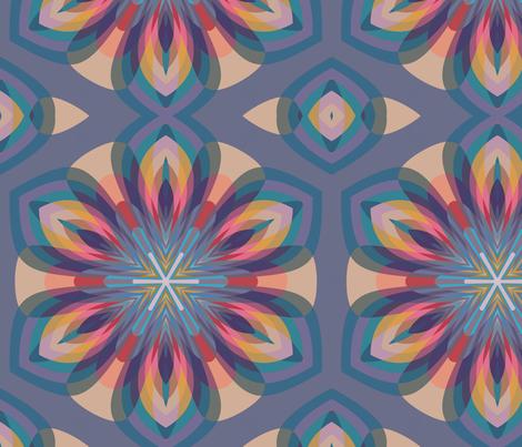 Moroccan Manadala fabric by artlovepassion on Spoonflower - custom fabric