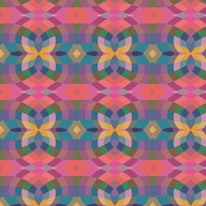 Pink Pixel Tribal