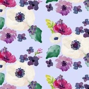 Floral Dreams Purple