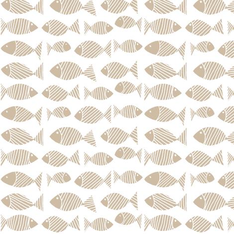Pale Fish 1 fabric by brokkoletti on Spoonflower - custom fabric