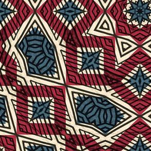 Red White & Blue Mandala