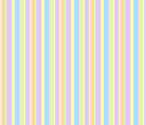 Pastel Stripe fabric by minicoopergirl93 on Spoonflower - custom fabric