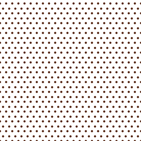 Polka Dots - Brown fabric by shopcabin on Spoonflower - custom fabric