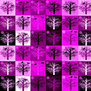 Wine Trees - DOES NOT PRINT PURPLE!