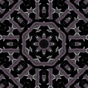 Deco Plum Kaleidoscope