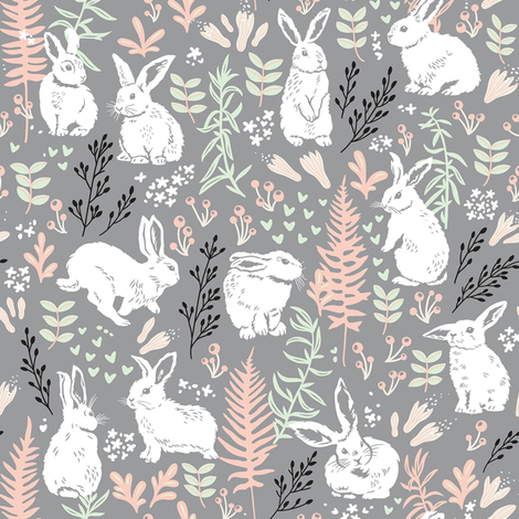 morning tenderness fabric by penguinhouse on Spoonflower - custom fabric
