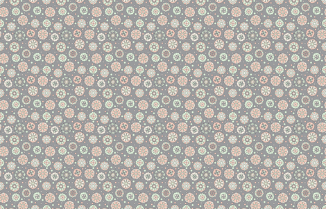 Mandalas & Dots fabric by wilkesgal12 on Spoonflower - custom fabric