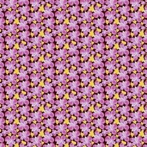 Easter Lily Yellow Lilac Floral_Miss Chiff Designsl