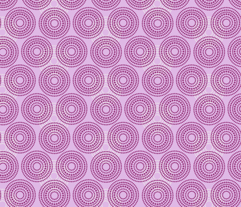 Easter Lilac Circles_Miss Chiff Designs fabric by misschiffdesigns on Spoonflower - custom fabric