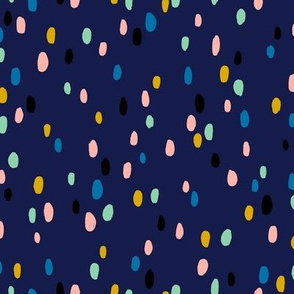 Applause* (Jackie Blue) || abstract spots dots confetti doodle scribble terrazzo