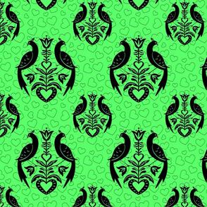 Peacocks-Hearts_Green