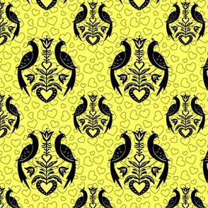 Peacocks-Hearts_Yellow