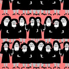 Nuns Wearing Habits