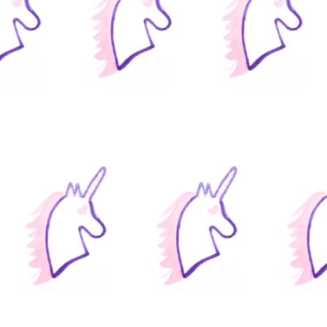 Unicorns fabric by kaitx317 on Spoonflower - custom fabric