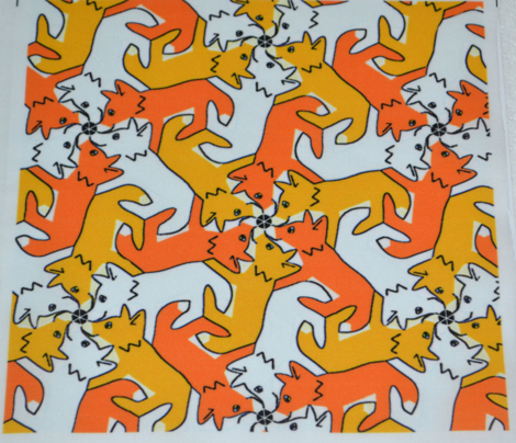Tessellating Fox Cubs
