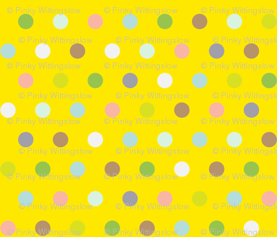 Spots on Yellow