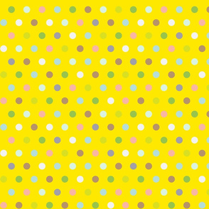Spots on Yellow