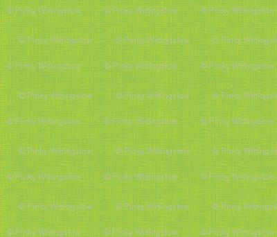Green Faux Linen