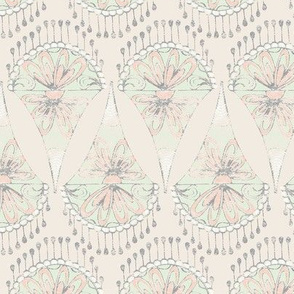 Limited Color Palette - Lace Motif