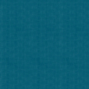 Dark Teal Faux Linen