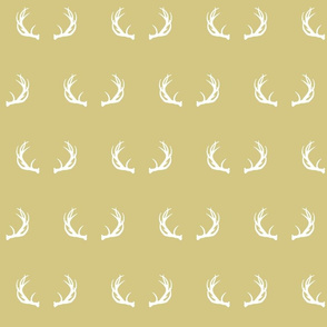 antlers // gold